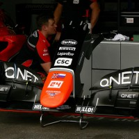 Marussia front wing